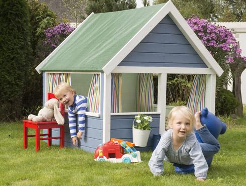 wie streicht man ein kinderspielhaus und holzgeräte richtig? - bondex, Moderne