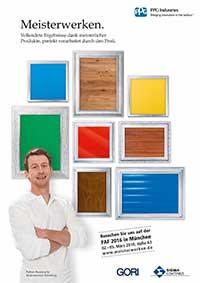 SIgma Pressemeldung Zwei starke Marken auf der Farbe, Ausbau und Fassade