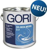 """""""Gori Iso-Deck Weiss 2in1"""" für Holzdecken:  Isolierung und Deckkraft in einem Produkt"""
