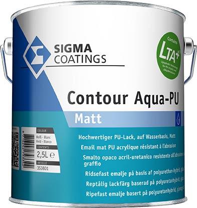 SIGMA Contour Aqua-PU Matt