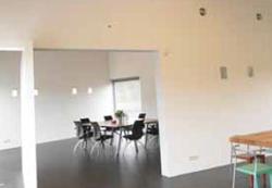 Moderne matte muurverfafwerking