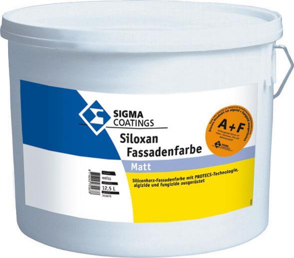 SIGMA Siloxan Fassadenfarbe A&F