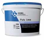 Sigma Putz 1 mm Matt