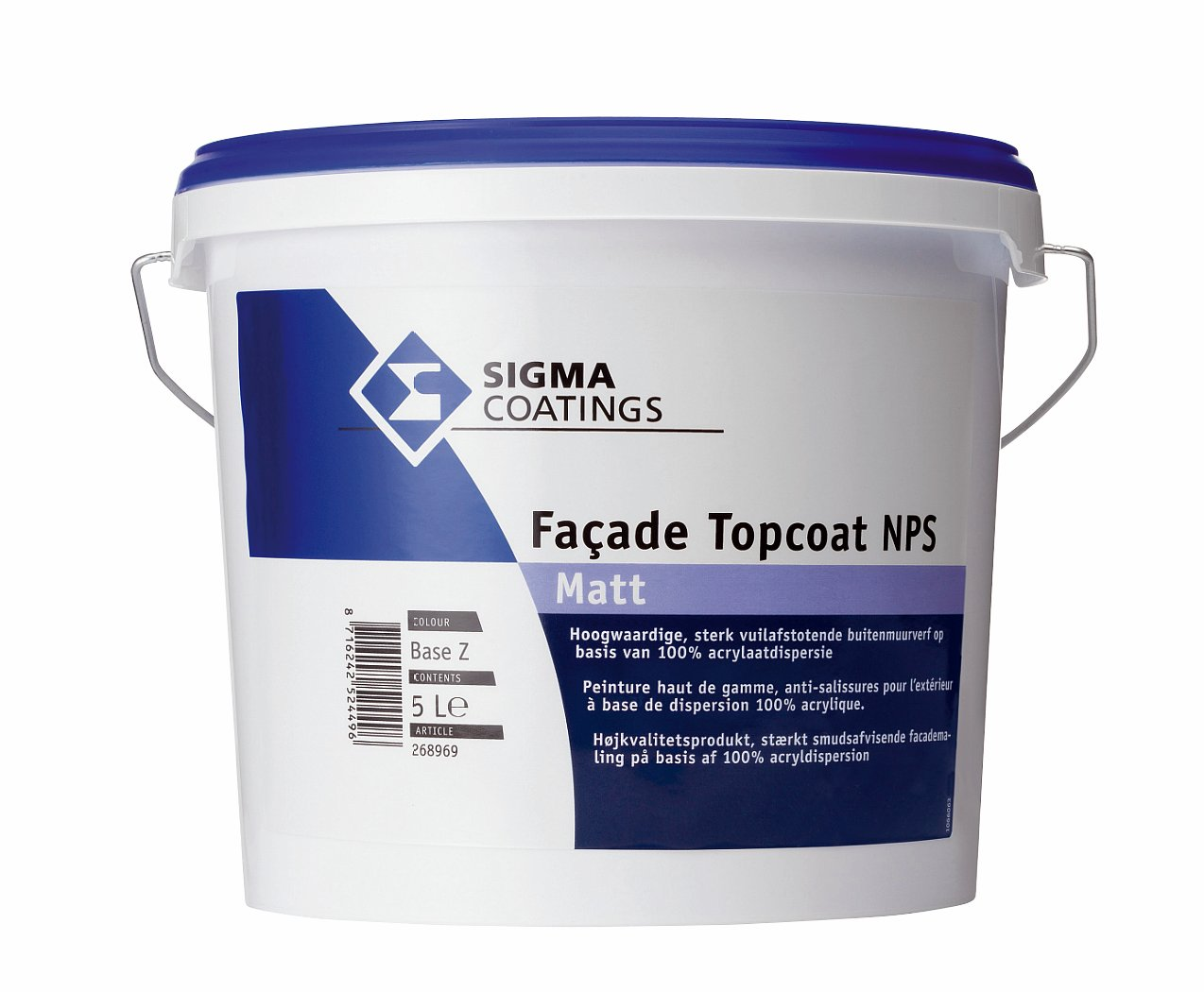 Facade Topcoat Self-Clean