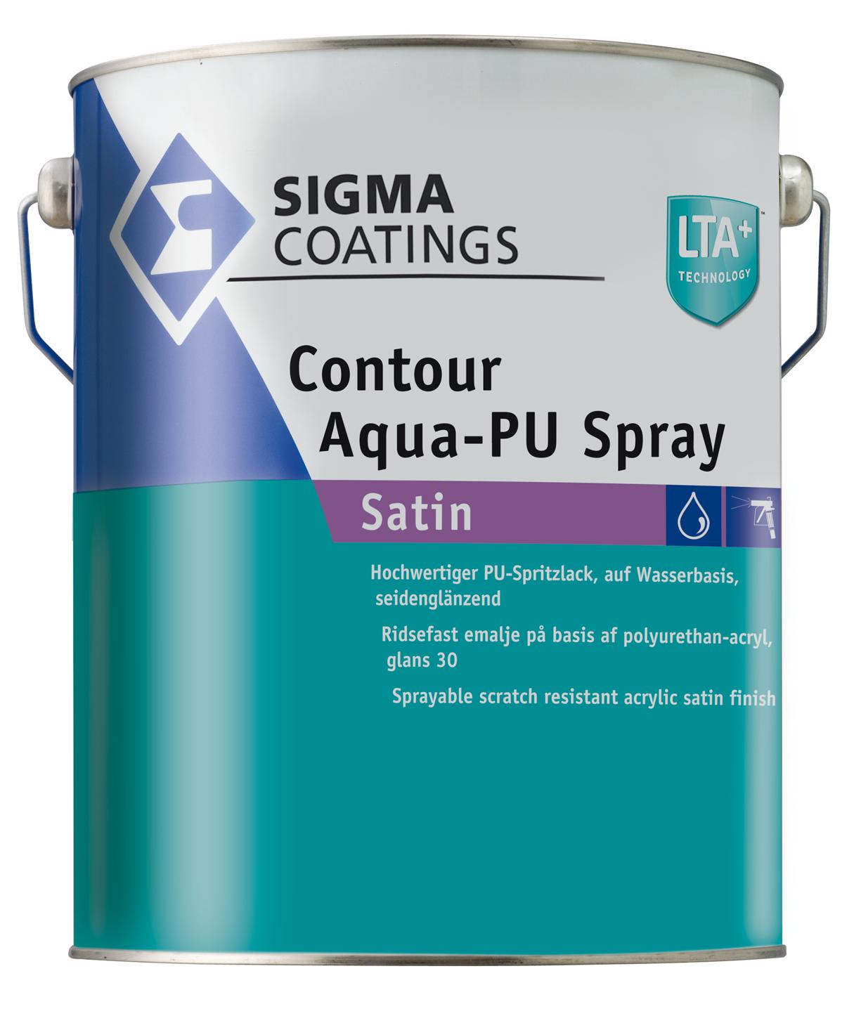 Contour Aqua-PU Spray Satin