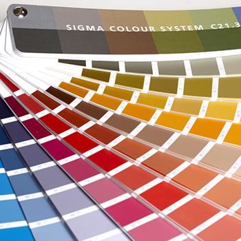 Sigma Colour System C21.3 waaier